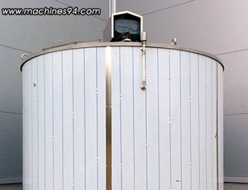 Collector tanks (autoclaves) for couverture and cream – 12 000 L