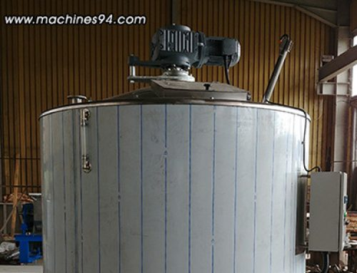 Collector tanks (autoclaves) for couverture and cream – 5 000 L