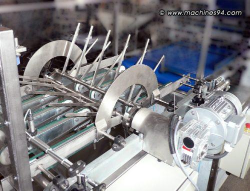 Обръщащо устройство за вафлени кори