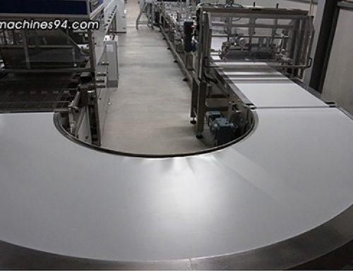 180° belt turn