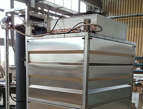 Tempering machine for chocolate T650
